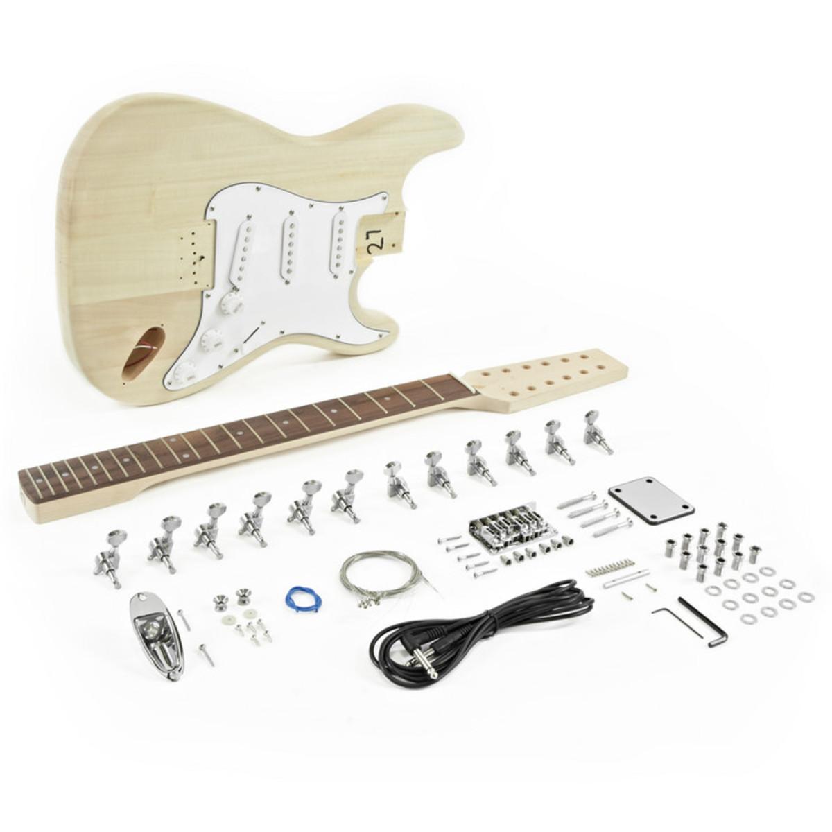 12 string la electric guitar kit cheap 12 string neck. Black Bedroom Furniture Sets. Home Design Ideas