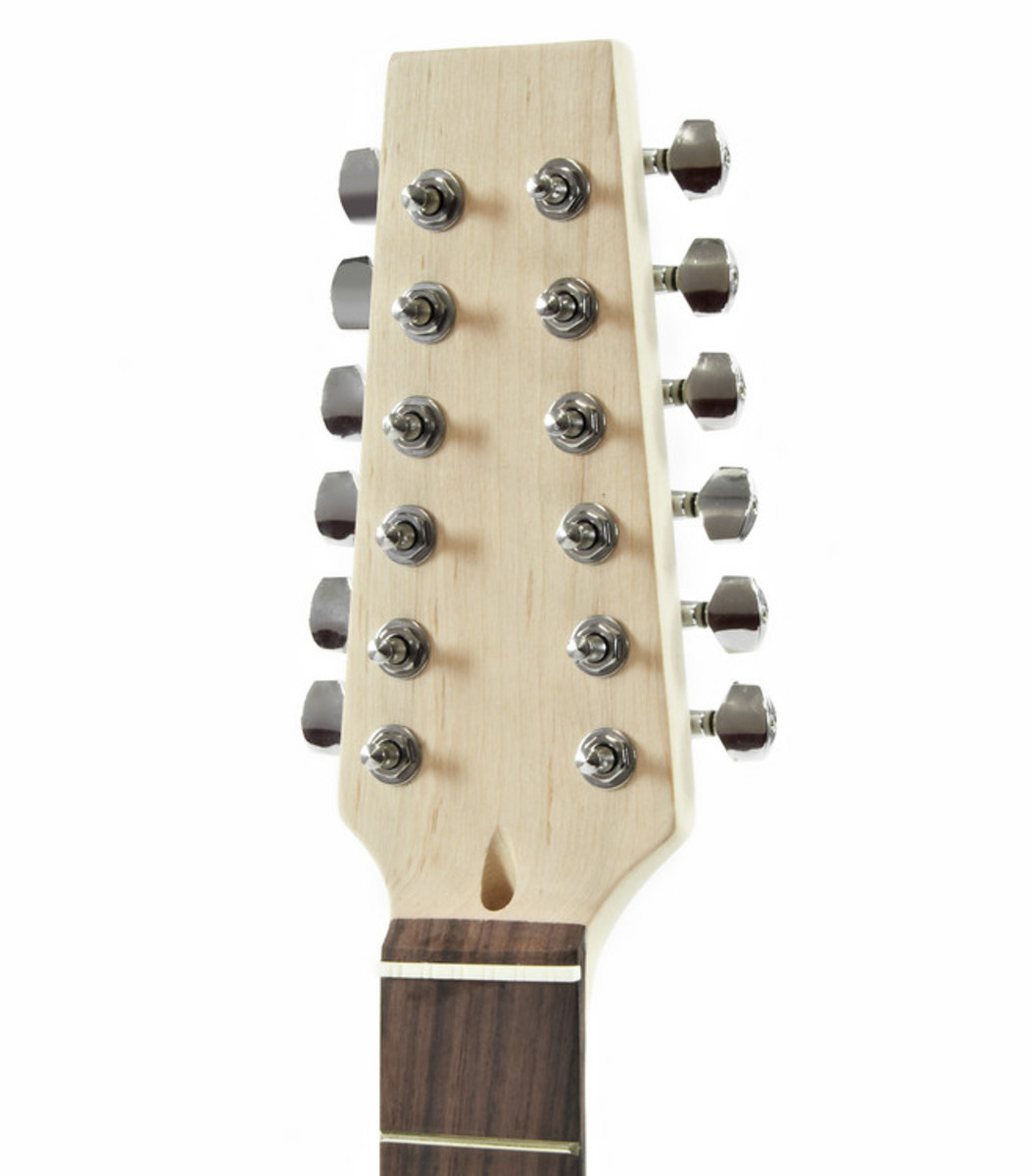 12 String La Electric Guitar Kit Cheap 12 String Neck Offsetguitars